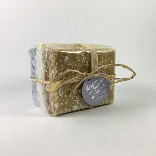 Facial and hand soap from Provence made with lavender essential oil