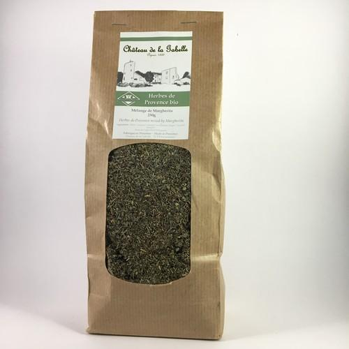 organic herbes de provence with lavender from Provence to add to any dish for excellent taste