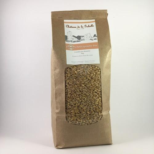 Gluten free cereal from Provence known as caviar of cereals with einkorn seed
