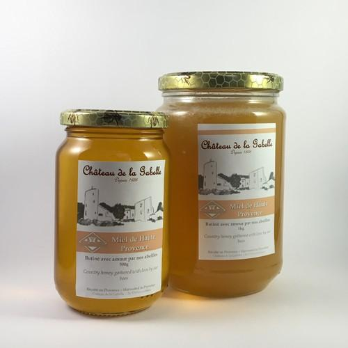 Lavender honey produced and harvested in Provence