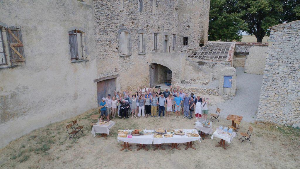 Famille Blanc producteurs bio de lavande en Provence et de petit épeautre projet familial de restauration de patrimoine