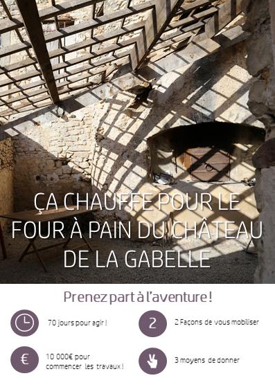 crowdfunding pour le patrimoine l'histoire et sauver un chateau en provence