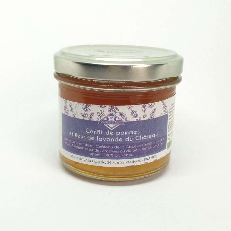 Accompagnement original pour foie gras confit bio à la lavande de Provence