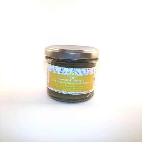 Dégustez un délicieux caviar d'aubergines bio venant directement de Provencee!
