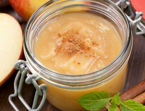 Recette Mars : Compote de pomme au miel de lavande et cannelle