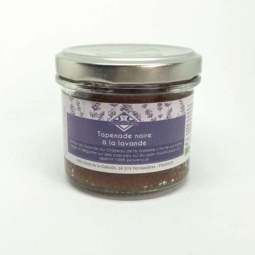Délicieuse tapenade noire bio à la fleur de lavande de Provence pour ravir vos convives lors de vos soirées festives