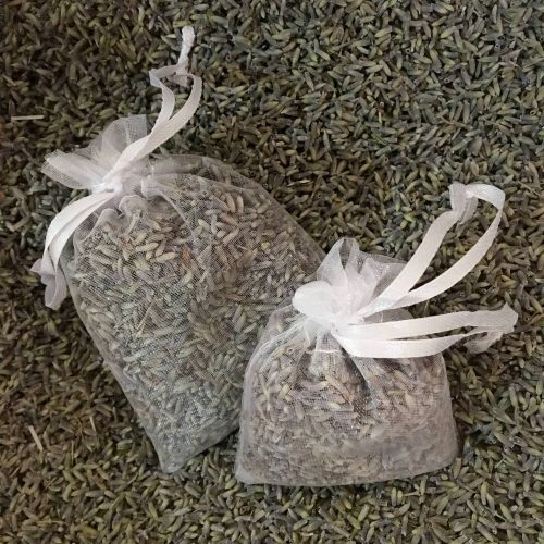 sachets de lavande pour que les placards sentent bon et anti mites