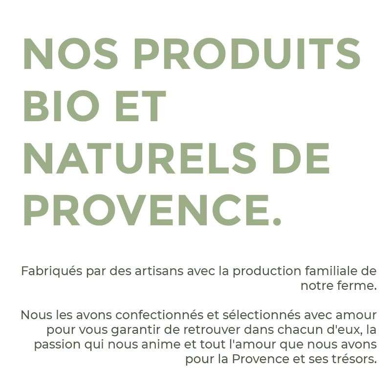 Producteurs bio de lavande en Provence