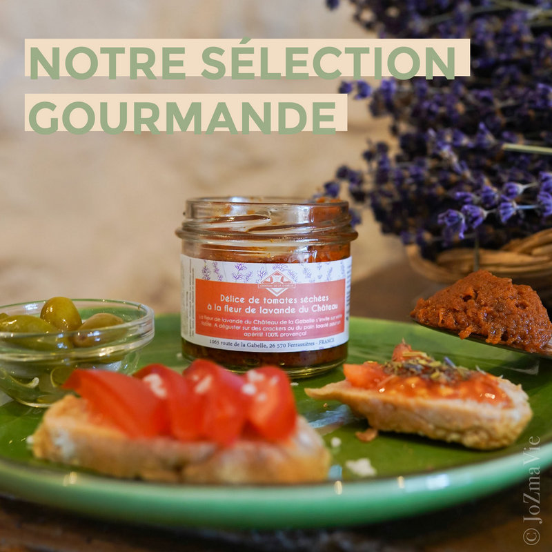 Des produits d'épicerie fine issus de l'artisanat français à la lavande biologiques et écologiques