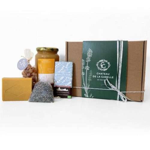 coffret cadeau homme ou femme pour Noël 2020 composé de produits au miel