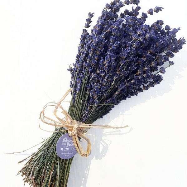 bouquet de lavande de Sault en Provence coupé à la main et séché